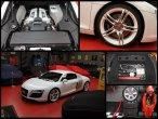 Audi R8 Blanc