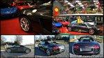 Audi R8 Spider & Ferrari F430