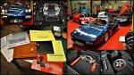 Ferrari Testarossa et Alfa GTV